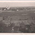 Новомістський краєвид на старій фотографії.